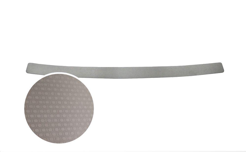 """Накладка на задний бампер Rival для Toyota Camry 2014-, 1 штNB.5708.1Накладка на задний бампер RIVAL Накладка на задний бампер защищает лакокрасочное покрытие от механических повреждений и создает индивидуальный внешний вид автомобиля - Использование высококачественной итальянской нержавеющей стали AISI 304. - Надежная фиксация на автомобиле с помощью """"фирменного"""" скотча 3М. - Рельефный рисунок накладки придает автомобилю индивидуальный внешний вид. - Идеально повторяют геометрию бампера автомобиля. Уважаемые клиенты! Обращаем ваше внимание, что накладка имеет форму и комплектацию, соответствующую модели данного автомобиля. Фото служит для визуального восприятия товара."""