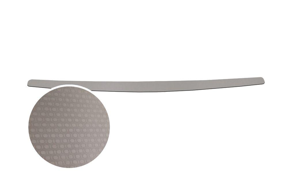 """Накладка на задний бампер Rival для Lada Vesta 2015-, 1 штNB.6007.1Накладка на задний бампер RIVAL Накладка на задний бампер защищает лакокрасочное покрытие от механических повреждений и создает индивидуальный внешний вид автомобиля - Использование высококачественной итальянской нержавеющей стали AISI 304. - Надежная фиксация на автомобиле с помощью """"фирменного"""" скотча 3М. - Рельефный рисунок накладки придает автомобилю индивидуальный внешний вид. - Идеально повторяют геометрию бампера автомобиля. Уважаемые клиенты! Обращаем ваше внимание, что накладка имеет форму и комплектацию, соответствующую модели данного автомобиля. Фото служит для визуального восприятия товара."""
