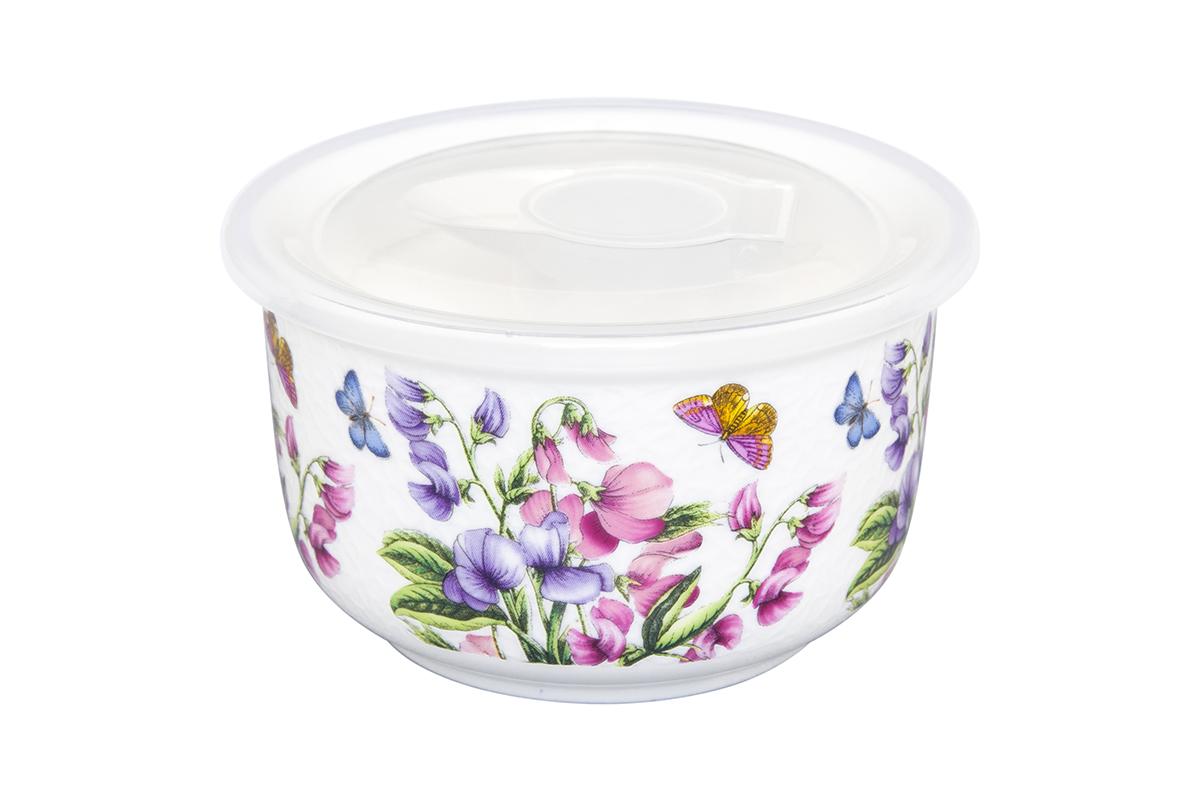 Салатник Elan Gallery Душистый цветок, с крышкой, 10 х 10 х 6 см181010Салатник прекрасно подойдет для приготовления и хранения салатов. Украсит любой стол и любую кухню, а пластиковая крышка сохранит свежесть Вашего блюда, предохранит от заветривания. Изделие имеет подарочную упаковку, поэтому станет желанным подарком для Ваших близких!