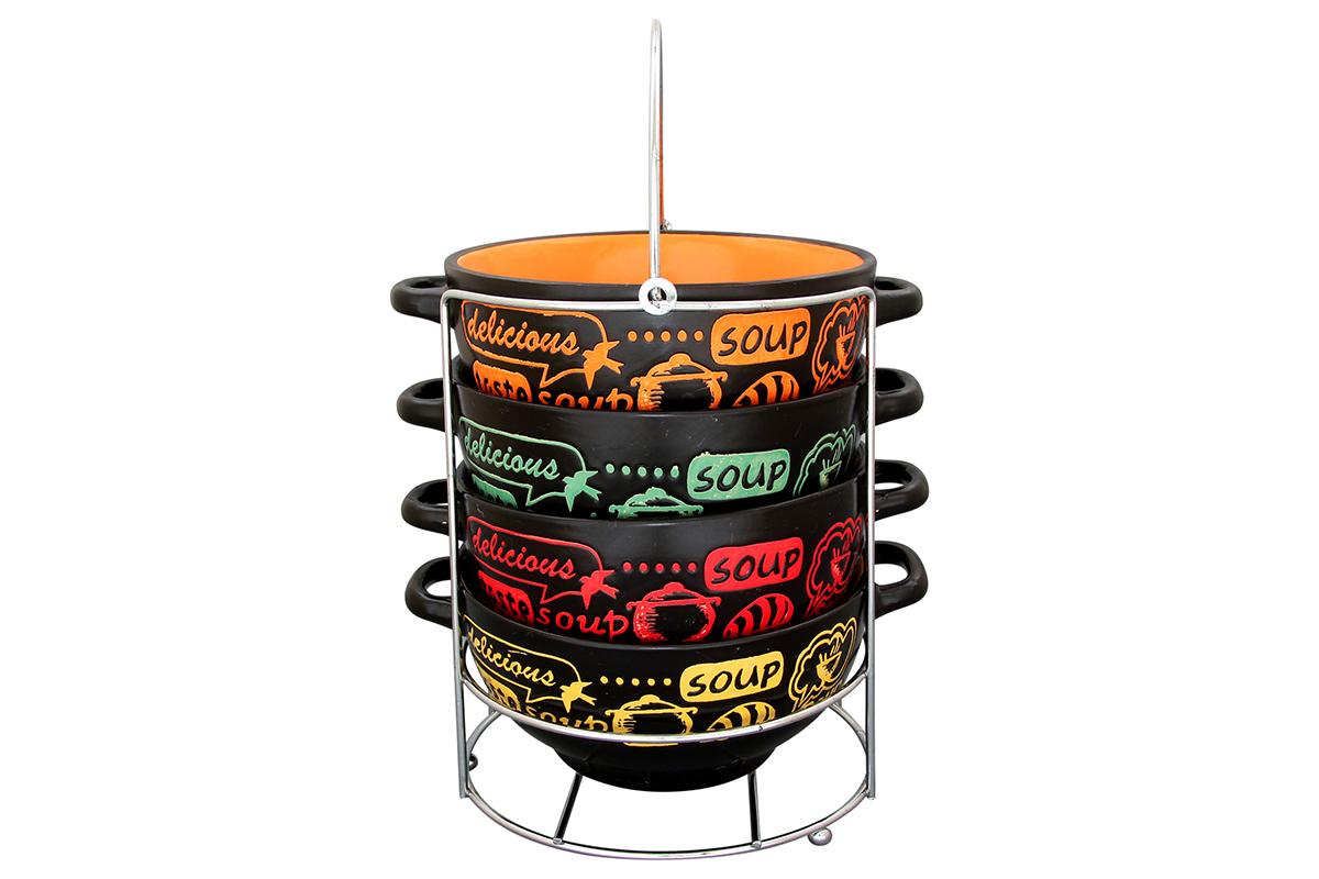 Набор бульонниц Elan Gallery Приятного аппетита, 600 мл, 4 шт230041Бульонница имеет широкую горловину для удобства. Сохранит горячим Ваш суп или бульон. Универсальна в использовании. Можно использовать в микроволновой печи и посудомоечной машине. Изделие имеет подарочную упаковку, поэтому станет желанным подарком для Ваших близких! Объем бульонницы: 600 мл.