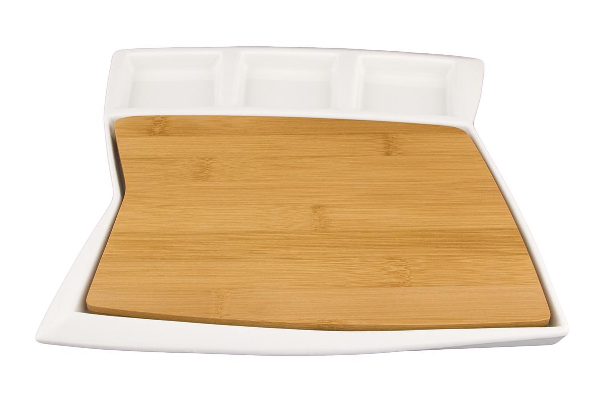 Набор для сервировки сыра Elan Gallery Айсберг, 2 предмета540167Отличное решение для сервировки холодных закусок. Разнообразит убранство праздничного и повседневного стола. Размер 27,5х26х1,7 см.