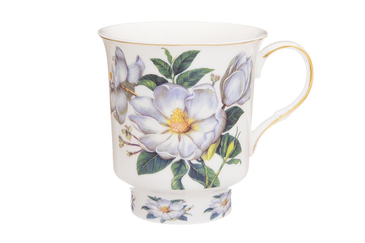 Кружка Elan Gallery Шиповник, цвет: белый, 630 мл730660Большая кружка выполненная из фарфора, станет оригинальным подарком! Идеальна для тех, кто предпочитает большие кружки и для любителей чая, кофе. Размер 14,5х11х12 см. Объем 630 мл.