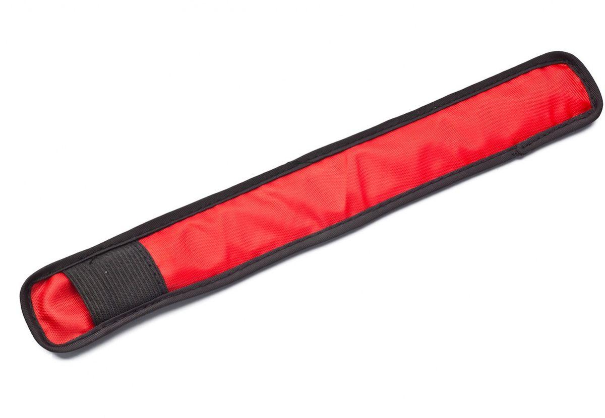 Слэп-лента Bradex, со светодиодной подсветкой, цвет: красныйTD 0442Для пешеходов, велосипедистов и роллеров, детей и взрослых, домашних питомцев - слэп-лента со светодиодной подсветкой оповестит водителей авто и других участников движения о вашем присутствии на дороге. Надевайте его для катания на велосипеде или прогулок в темное время суток. Выбирайте подсветку красного, синего или зеленого цвета. материалы:оксфордская ткань, пленочный световод, печатная плата - пластина из диэлектрика, стальной диск Работает светодиод от 1 батарейки CR2016 (в комплекте) размер:24x3.5 см, LED:напряжение: 3V сила: 210mAh ток: 0.2mA