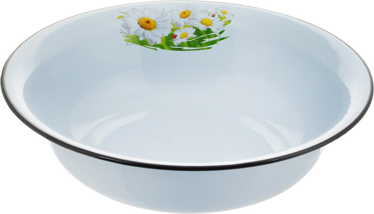 Миска Эмаль, 4 л. 02-0314/402-0314/4Миска Эмаль, изготовленная из стали с эмалированным покрытием, имеет круглую форму. Изделие оформлено изображением цветов. Такая миска прекрасно подойдет для сервировки ягод, овощей, фруктов, салатов и других продуктов.