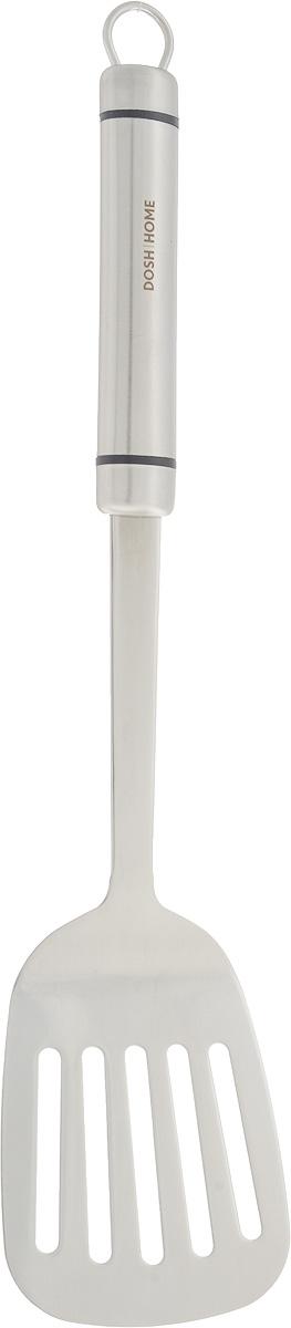 Лопатка кухонная Dosh Home Orion, длина 36 см100103Кухонная лопатка Dosh Home Orion, выполненная из нержавеющей стали, подходит для работы с горячими продуктами. Ручка оснащена отверстием, за которое вы сможете подвесить изделие в любое удобное для вас место. Лопатка Dosh Home Orion займет достойное место среди аксессуаров на вашей кухне. Не рекомендуется мыть в посудомоечной машине. Общая длина: 36 см. Размер рабочей поверхности: 9,2 х 7,8 см.