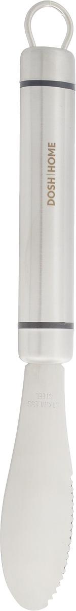 Нож для масла Dosh Home Orion, длина лезвия 10 см100123Нож для масла Dosh Home Orion имеет специальную форму, которая позволяет легко отрезать и намазывать масло. Лезвие изготовлено из первоклассной нержавеющей стали. Лезвие долгое время сохраняет заточку. Такой нож займет достойное место среди аксессуаров на вашей кухне. Изделие можно мыть в посудомоечной машине. Длина ножа: 24 см, Ширина: 3 см.