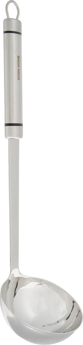 Половник Dosh Home Orion, длина 33 см100100Ложка разливная Dosh Home Orion изготовлена из первоклассной нержавеющей стали, на ручке есть ушко для удобного подвешивания. Прекрасно подходит для ежедневного использования. Легко моется, можно мыть в посудомоечной машине. Диаметр рабочей поверхности: 8,7 см. Длина ложки: 33 см.