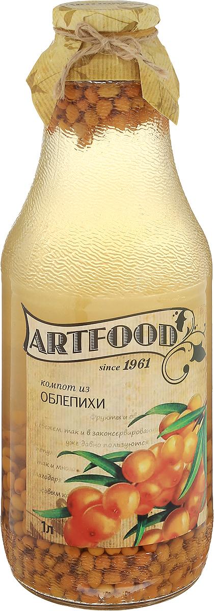 Artfood компот из облепихи, 1 л13001110200018Компот из облепихи Artfood обладает множеством полезных свойств. В отличие от воды в нем содержатся витамины. От соков компот отличается тем, что не содержит такого обильного количества кислот, которые могут негативно повлиять на желудок.