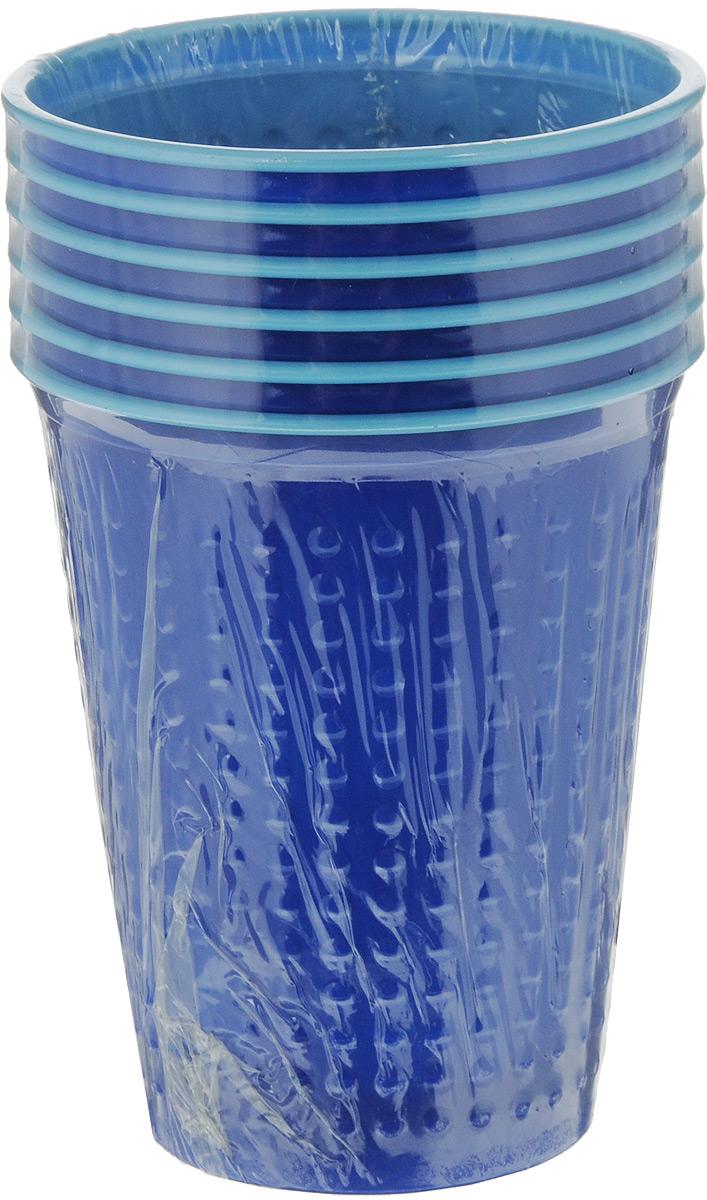 Набор одноразовых стаканов Buffet BiColor, цвет: темно-синий, голубой, 200 мл, 6 шт. 181105181105_синийНабор Buffet Biсolor состоит из 6 стаканов, выполненных из полистирола и предназначенных для одноразового использования. Одноразовые стаканы будут незаменимы при поездках на природу, пикниках и других мероприятиях. Они не займут много места, легки и самое главное - после использования их не надо мыть. Диаметр стакана (по верхнему краю): 7 см. Высота стакана: 8 см. Объем: 200 мл.