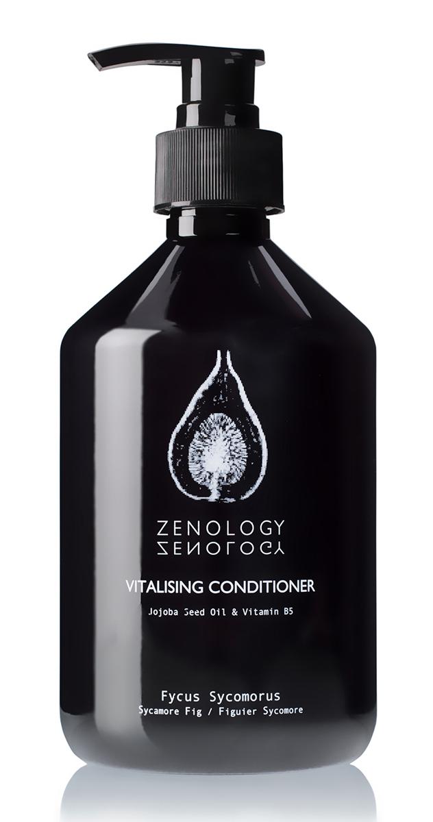 Zenology Восстанавливающий Кондиционер для волос Египетская Фига 500 мл500MLSFCONDIКондиционер подходит для всех типов волос, делает их послушными и блестящими, нежно увлажняет и питает кожу головы. В состав входят: целебное масло жожоба и бодрящая перечная мята.