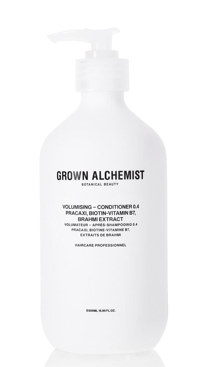 Grown Alchemist Кондиционер для придания объема волосам 500 млGRA0170Передовая формула кондиционера придает объем и визуальную густоту тонким и «плоским» волосам, распутывает, увлажняет и делает их блестящими.
