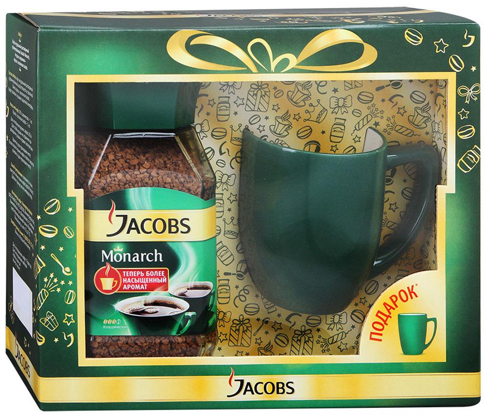 Jacobs Monarch кофе растворимый, 190 г + фирменная кружка 4251880