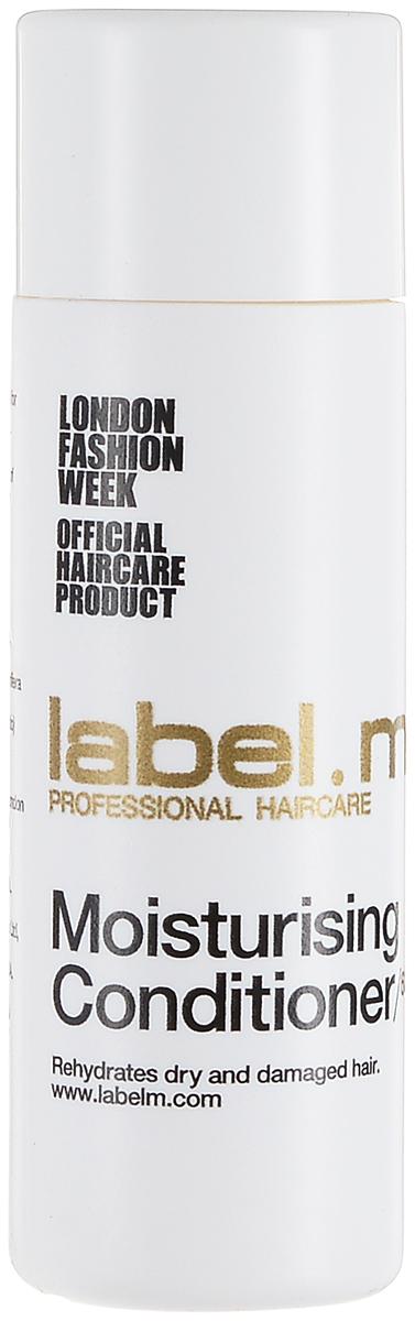 Label.m Кондиционер увлажняющий 60 млLCMC0060Экстракты алоэ, эхинацеи и смородины увлажняют сухие от природы волосы. Протеины сои и пшеницы укрепляют волосы. Инновационный комплекс Enviroshield защищает волосы от термического воздействия во время укладки и от УФ лучей.