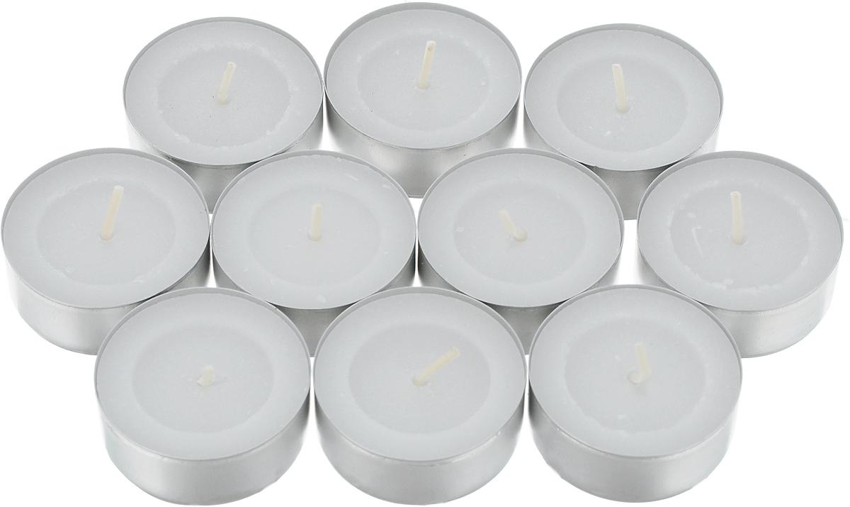 Набор свечей Омский свечной завод, цвет: белый, диаметр 3,8 см, 10 шт337435Набор Омский свечной завод состоит из 10 круглых чайных свечей без запаха, изготовленных из парафина и хлопчатобумажной нити. Такие свечи создадут атмосферу таинственности и загадочности и наполнят ваш дом волшебством и ощущением праздника. Хороший сувенир для друзей и близких. Время горения: не менее 3 часов. Высота: 1,5 см. Диаметр: 3,8 см.