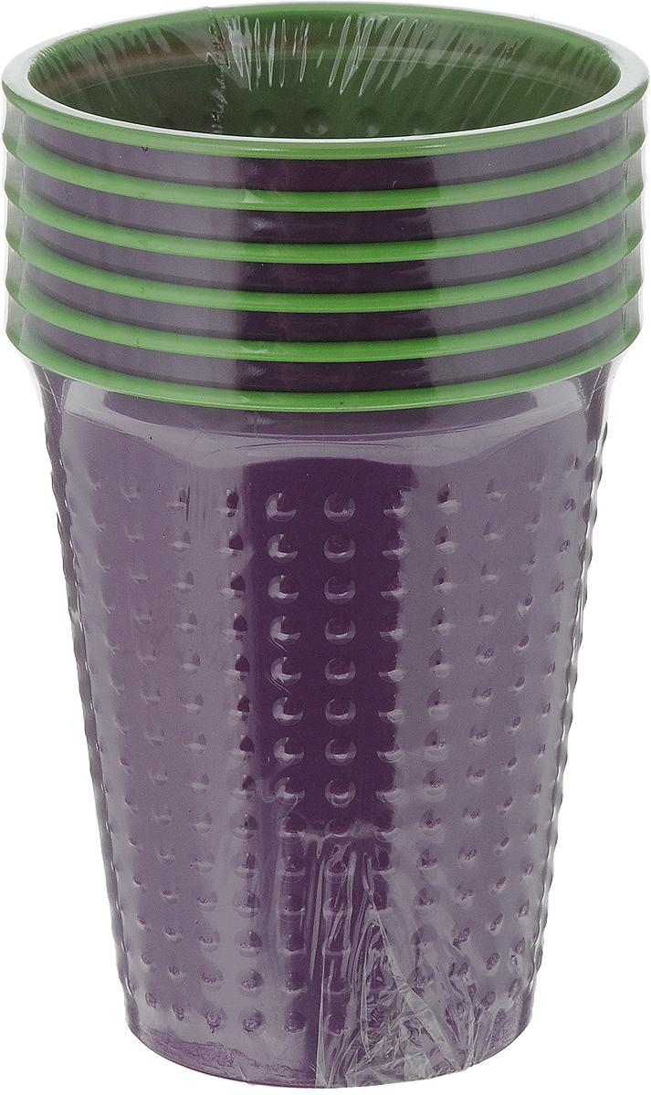Набор одноразовых стаканов Buffet BiColor, цвет: испанский арбуз, 200 мл, 6 шт181102Набор Buffet BiColor состоит из 6 стаканов, выполненных из полистирола и предназначенных для одноразового использования. Одноразовые стаканы будут незаменимы при поездках на природу, пикниках и других мероприятиях. Они не займут много места, легки и самое главное - после использования их не надо мыть. Диаметр стакана (по верхнему краю): 7 см. Высота стакана: 8,3 см. Объем: 200 мл.