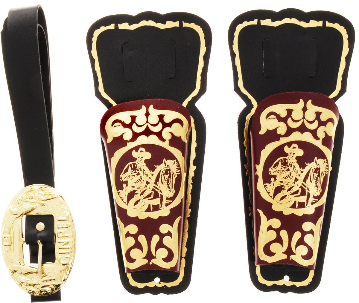 Villa Игровой набор Дикий Запад цвет черный коричневый 3 предмета villa винтовка шериф цвет золотистый