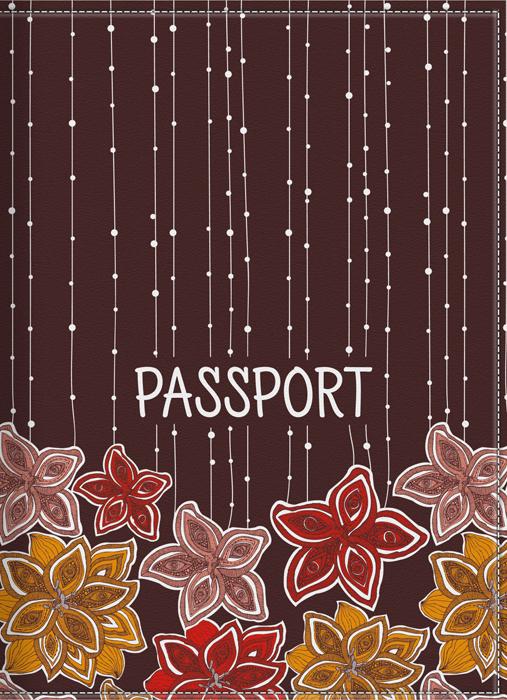 Обложка для паспорта женская КвикДекор, цвет: коричневый. DC-17-0075-1-1DC-17-0075-1-1Оригинальная женская обложка для паспорта КвикДекор изготовлена из качественной экокожи. Подходит для всех видов паспортов, как общегражданских, так и заграничных. Изображение устойчиво к стиранию. Изделие раскладывается пополам. Яркий современный дизайн выполнен художником Валентиной Рамос (MGL).