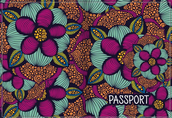 Обложка для паспорта женская КвикДекор, цвет: мультиколор. DC-17-0077-1-1DC-17-0077-1-1Оригинальная женская обложка для паспорта КвикДекор изготовлена из качественной экокожи. Подходит для всех видов паспортов, как общегражданских, так и заграничных. Изображение устойчиво к стиранию. Изделие раскладывается пополам. Яркий современный дизайн выполнен художником Валентиной Рамос (MGL).