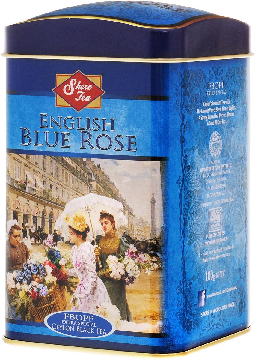 Shere Tea Английская голубая роза чай черный листовой, 100 г4791014010609Черный листовой чай Shere Tea Английская голубая роза быстро заваривается, имеет яркий, прозрачный и интенсивный настой. Вкус полный, терпкий, слегка вяжущий. Аромат чая полный, приятный, выражен достаточно ярко. Знак в виде Льва с 17 пятнышками на шкуре - это гарантия Бюро Цейлонского Чая на соответствие чая высокому стандарту качества, установленному Правительством и упакованному только в пределах Шри-Ланки.
