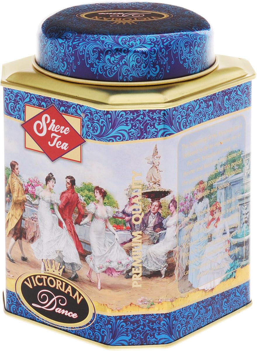 Shere Tea Викторианские танцы чай черный листовой, 250 г4791014009771Чай Shere Tea Викторианские танцы быстро заваривается, дает яркий, прозрачный и интенсивный настой. Вкус полный, терпкий, слегка вяжущий. Аромат чая полный, приятный, выражен достаточно ярко. Стандарт STD 2712 FBOP. Знак в виде Льва с 17 пятнышками на шкуре - это гарантия Цейлонского Чайного Бюро на соответствие чая высокому стандарту качества, установленному Правительством и упакованному только в пределах Шри-Ланки.