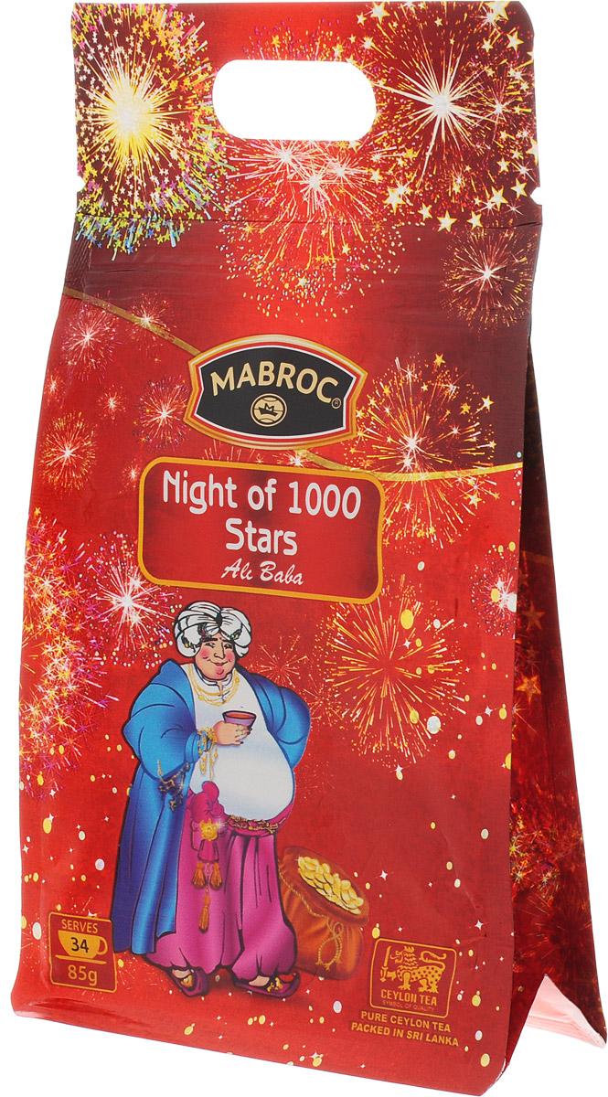 Mabroc Ночь 1000 звезд чай листовой, 85 г4791029064284Листовой чай Mabroc Ночь 1000 звезд - лидер покупательских симпатий. Это превосходное сочетание черного чая, выращенного в низинных районах Сабарагамувы, и зеленого, растущего высоко в горах Нувара Элии. Прохлада ветров и солнечное тепло, которым ласково укутаны все растения этого района, дарят чаю особенный сладкий вкус, усиленный клубничной вытяжкой, лепестками розы и ноготков. Знак в виде Льва с 17 пятнышками на шкуре - это гарантия Цейлонского Чайного Бюро на соответствие чая высокому стандарту качества, установленному Правительством и упакованному только в пределах Шри-Ланки.