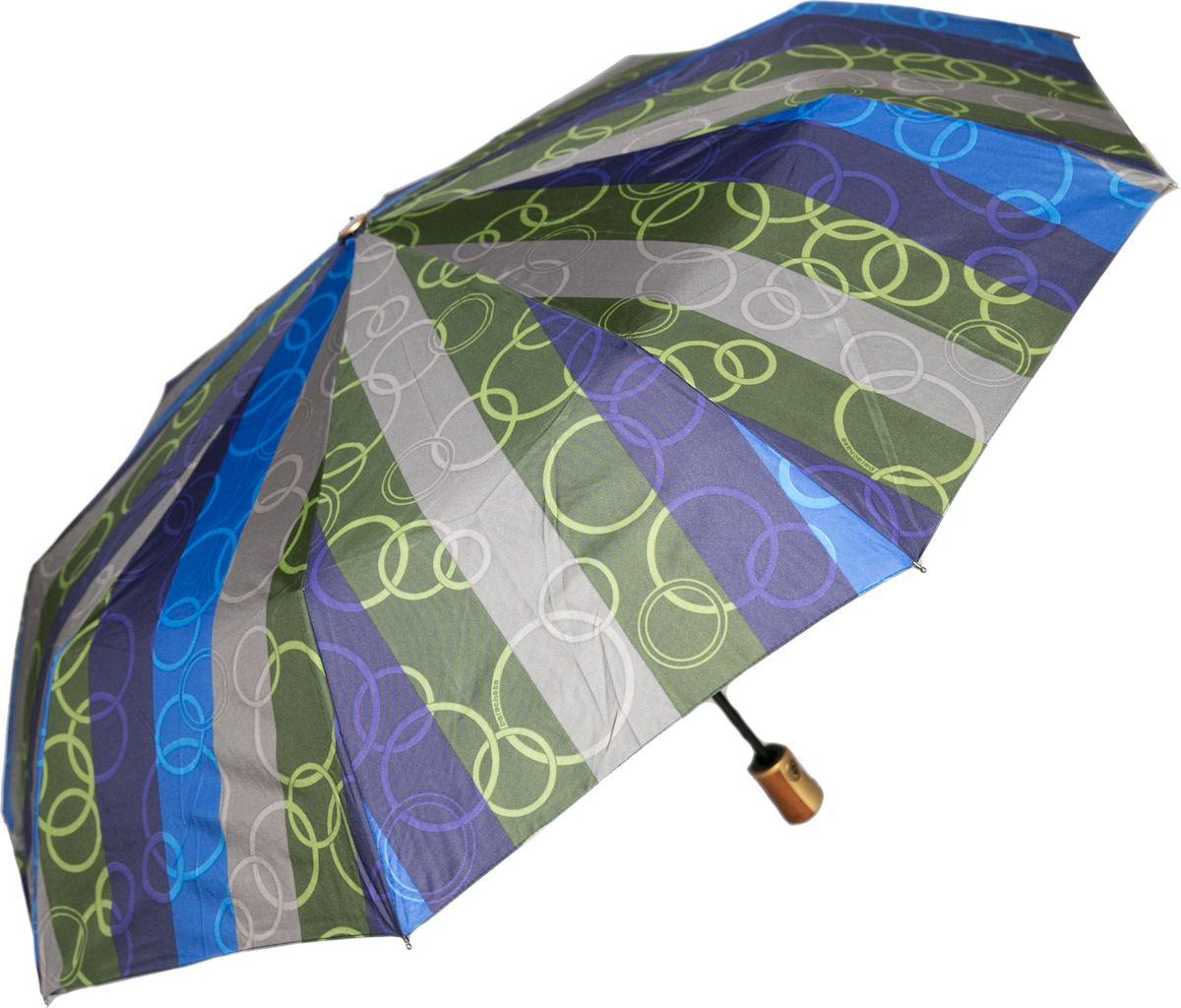 Зонт женский Mitya Veselkov, цвет: синий. ZONT2-01ZONT2-01Прекрасный и надежный автоматический зонт Mitya Veselkov укроет от дождя и станет стильным аксессуаром, дополняющим Ваш образ. Ширина купола 100 см.