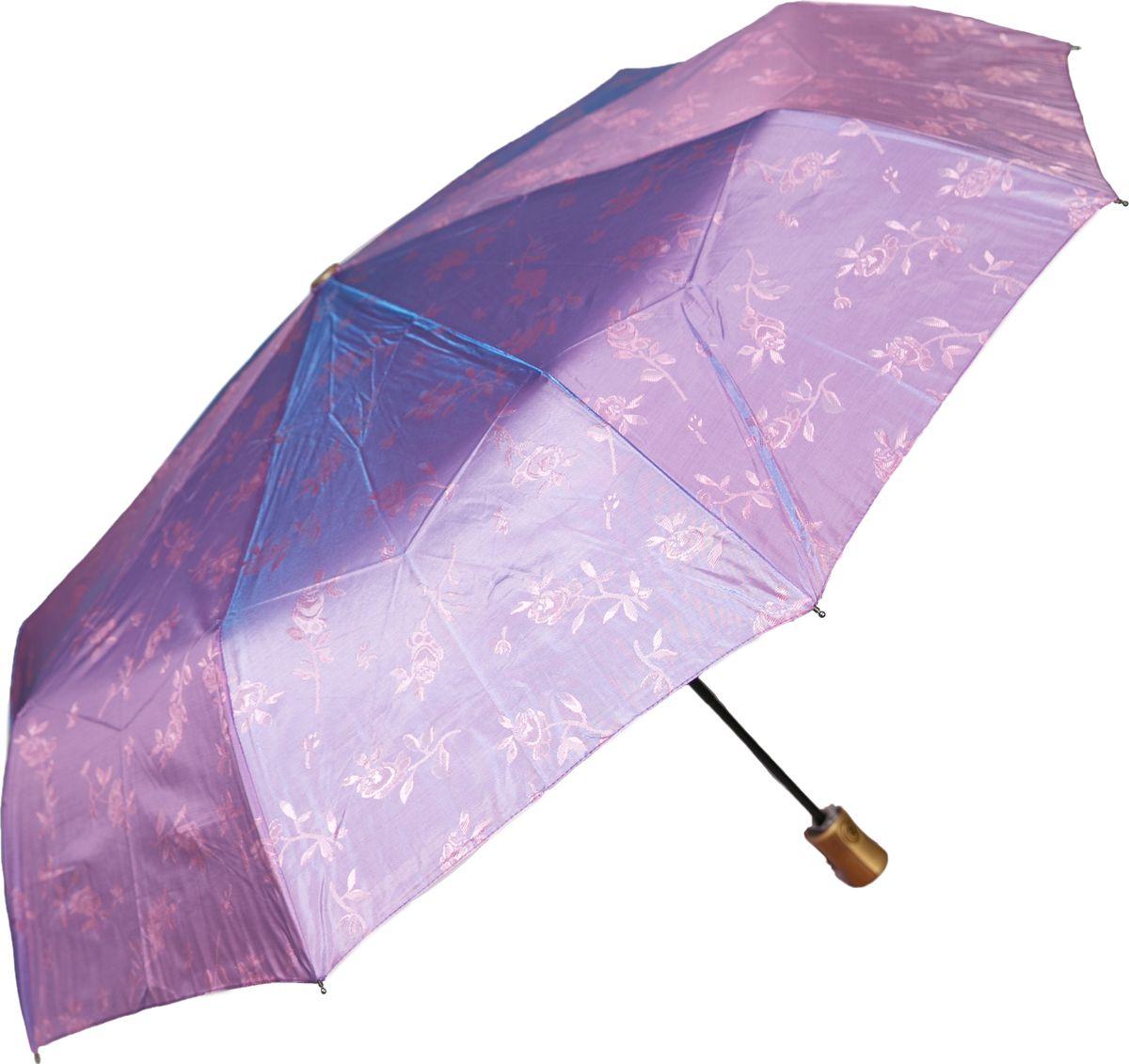 Зонт женский Mitya Veselkov, цвет: сиреневый. ZONT2-09ZONT2-09Прекрасный и надежный автоматический зонт Mitya Veselkov укроет от дождя и станет стильным аксессуаром, дополняющим Ваш образ. Ширина купола 100 см.