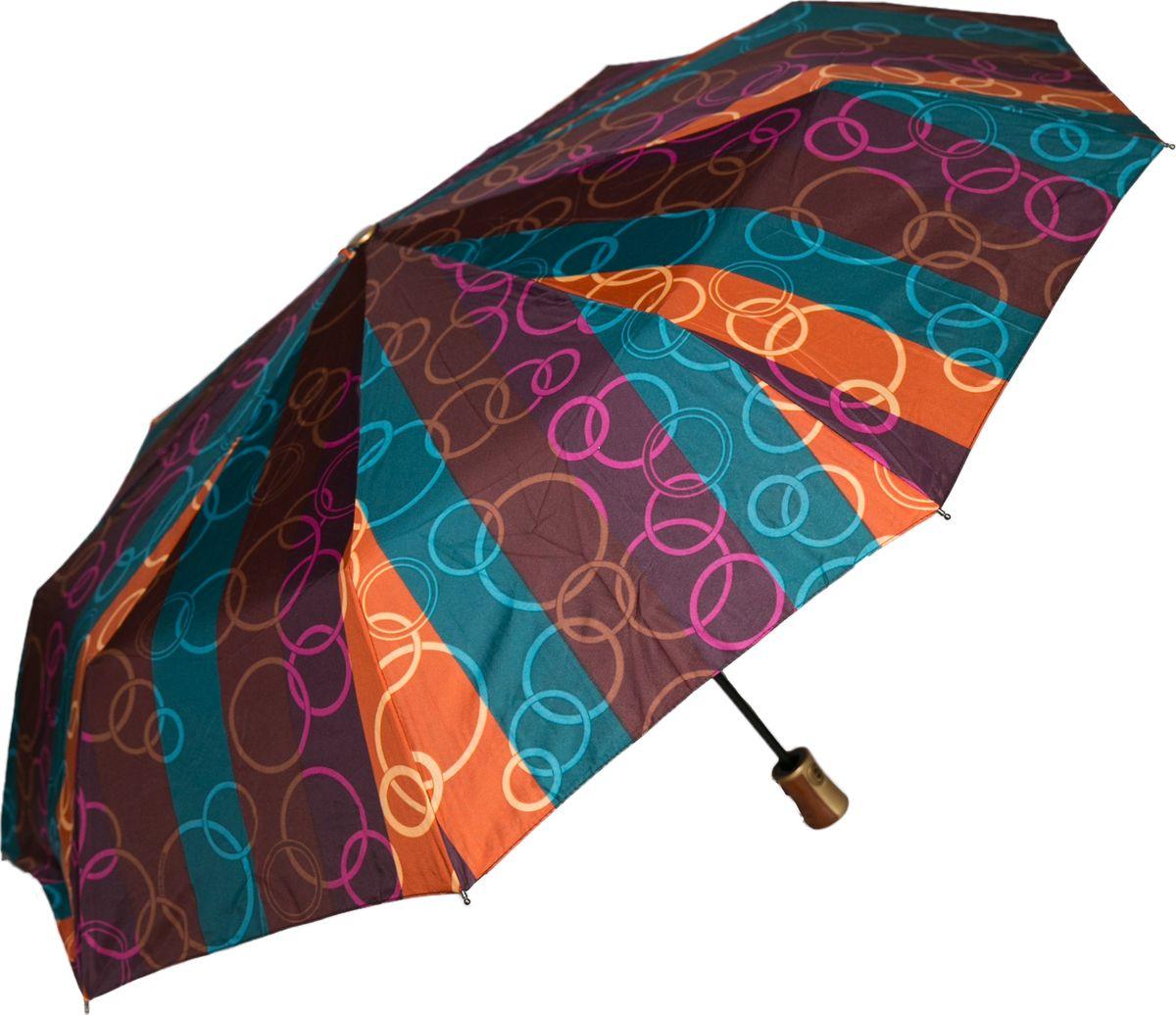Зонт женский Mitya Veselkov, цвет: бордовый. ZONT2-11ZONT2-11Прекрасный и надежный автоматический зонт Mitya Veselkov укроет от дождя и станет стильным аксессуаром, дополняющим Ваш образ. Ширина купола 100 см.