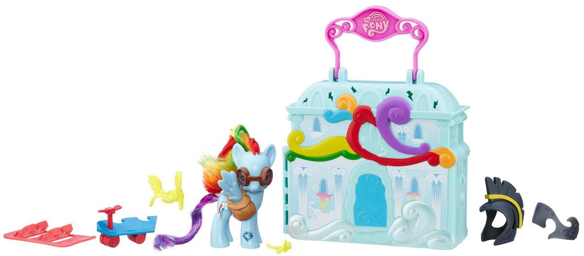 My Little Pony Игровой набор Cloudominium Rainbow Dash B3604_В8074