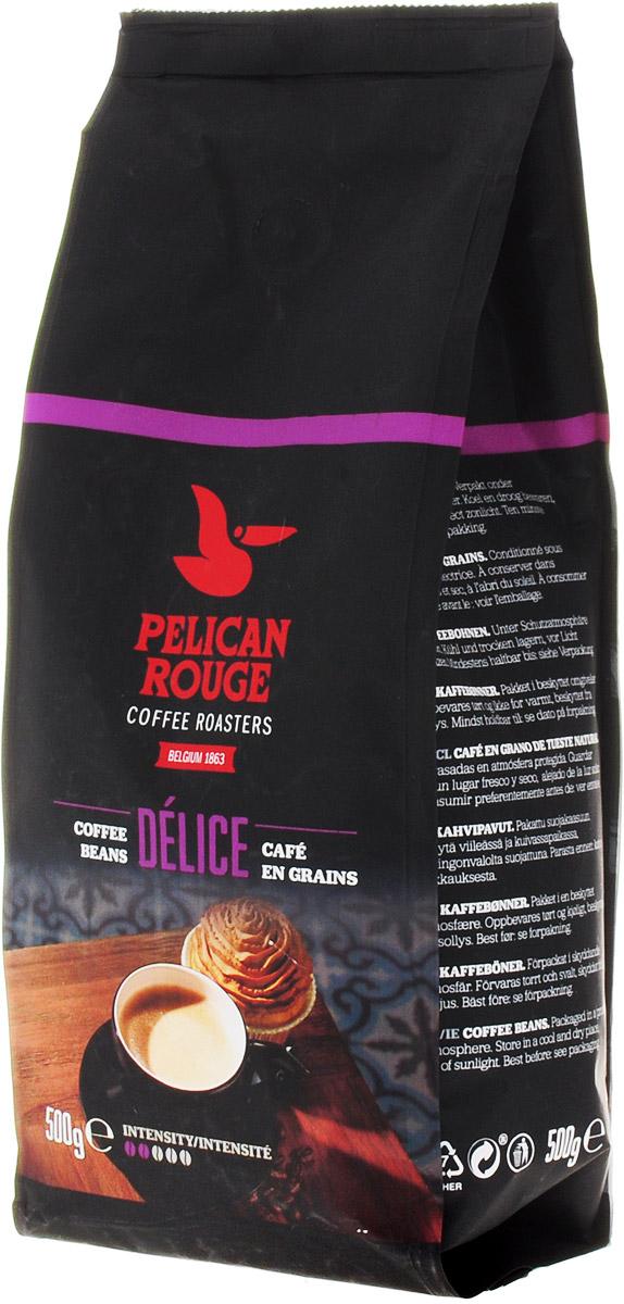 Pelican Rouge Delice кофе в зернах, 500 г5410958119115Кофе в зернах Pelican Rouge Delice средней обжарки с легким цветочным ароматом, вкусом спелых ягод и долгим приятным послевкусием пряностей. Идеально подходит для приготовления эспрессо, капучино и кофейных напитков с молоком.