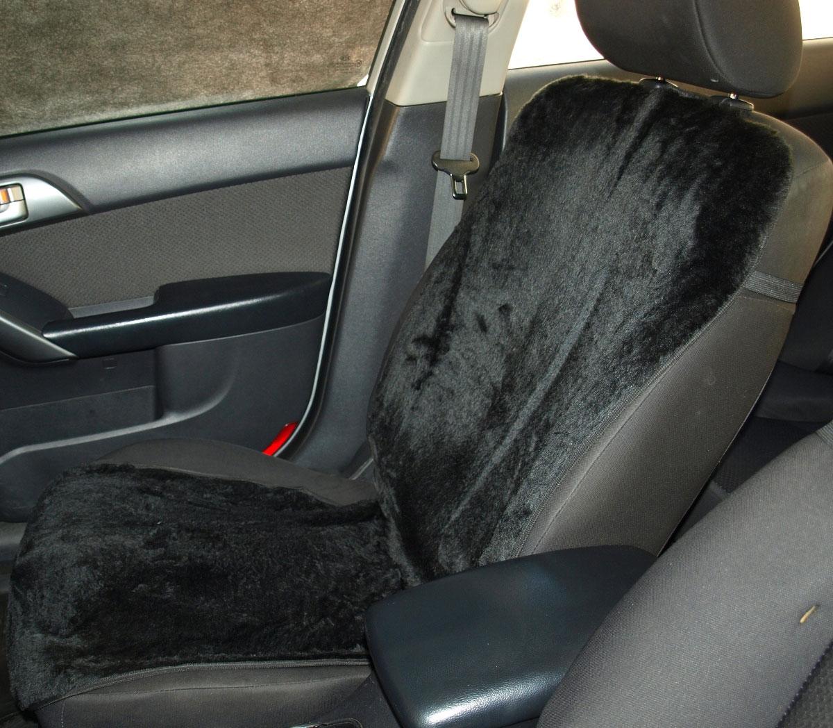 Накидка на сиденье Антей, цвет: черный, 54 х 120 смА499Накидка на сиденье меховая предназначена для более комфортной езды в холодное время года. Защищает водителя и пассажира от переохлаждения. А также защищает сиденья автомобиля от преждевременного износа. Синтетический мех накидки не вытирается и не сваливается. Накидка крепится на сиденье и на спинку кресла с помощью текстильных лент, оснащённых карабинами и липучками, а также с помощью резинок. Края накидки аккуратно прошиты. Размер накидки 120х54 см. Подходит для раздельных автокресел любых автомобилей. В комплекте 1 накидка. Упакован в плотный полиэтиленовый пакет с клапаном и еврослотом.