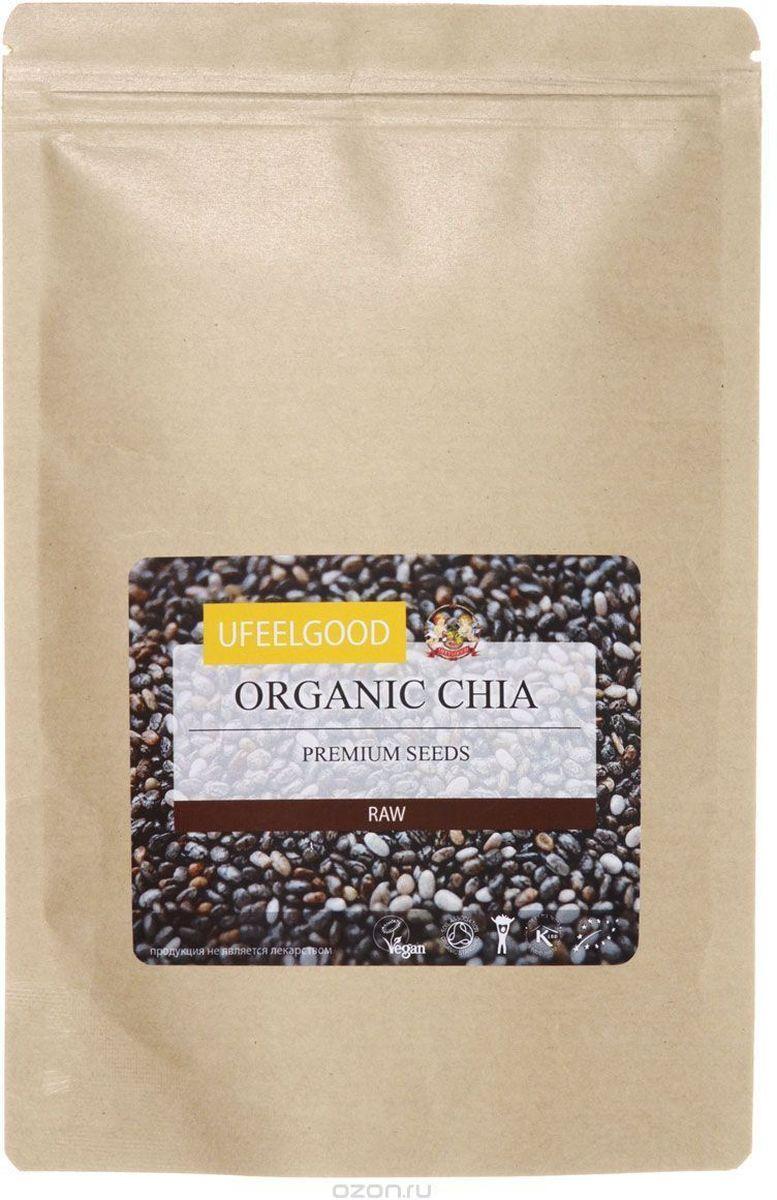UFEELGOOD Organic Chia Premium Seeds органические семена чиа, 1 кг43Прежде, чем описать полезные свойства семян чиа от UFEELGOOD, давайте подробнее рассмотрим их структуру. Семена поглощают воду в 8 раз превышающий их собственных вес, так как они окружены специальным волокном, который втягивает в себя воду. В отличие от традиционных зерновых, таких как овес, рисовые культуры и кукуруза, в семенах чиа всего 8% углеводов. Однако в них 20% белка. Когда вы едите семена чиа, они насыщают ваш желудок и задерживают высвобождение гормона грелина. Поэтому семена чиа отлично подходят для диет, так как после небольшого их употребления вы быстро насыщаетесь на весь день Семена чиа содержат большое количества Омега - 3 и полиненасыщенных жирных кислот. Чиа являются самым богатым носителем альфа-линоленовой кислоты, которая нужна для роста и развития клеток здорового мозга. Добавляя семена чиа в хлеб, вы сможете получить вместо скромной буханки хлеба, богатый омега - 3 кислотами продукт, который даст заряд энергии на...