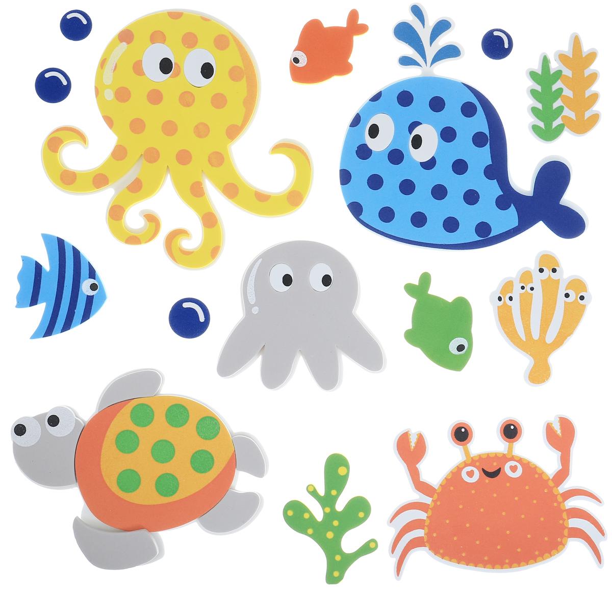 Room Decor Наклейка интерьерная Детские картинки 15 шт
