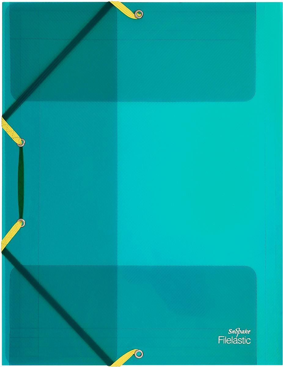 Snopake Папка-конверт на резинке Filelastic Electra цвет зеленыйK13720_зеленыйПапка-конверт на резинке Snopake Filelastic Electra  - это удобный и функциональный офисный инструмент, предназначенный для хранения и транспортировки рабочих бумаг и документов формата А4. Папка с двойной угловой фиксацией резиновой лентой изготовлена из износостойкого полупрозрачного пластика. Внутри папка имеет три клапана, что обеспечивает надежную фиксацию бумаг и документов. Папка - это незаменимый атрибут для студента, школьника, офисного работника. Такая папка надежно сохранит ваши документы и сбережет их от повреждений, пыли и влаги.