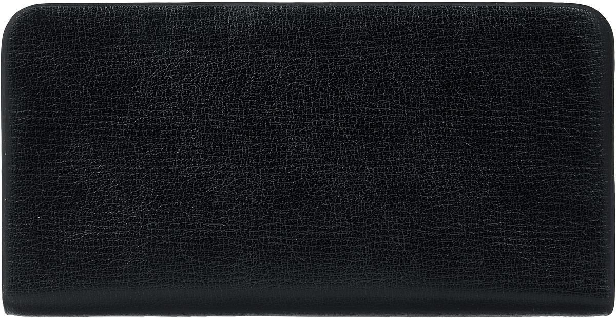 Кошелек мужской Leighton, цвет: черный. 0803-60803-6 blackМужской кошелек Leighton выполнен из искусственной кожи. Закрывается изделие на застежку-молнию. Внутри модель имеет три отделения для купюр, карман для мелочи на молнии, двенадцать карманов для пластиковых карт.