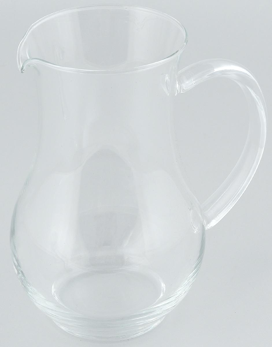 Кувшин Luminarc Pichet, 1,3 л55239Кувшин Luminarc Pichet, выполненный из высококачественного стекла, оснащен эргономичной ручкой. В нем будет удобно хранить и подавать на стол молоко, соки или воду. Кувшин Luminarc Pichet украсит любой кухонный интерьер и станет хорошим подарком для ваших близких. Диаметр кувшина (по верхнему краю): 10 см. Высота: 20 см.