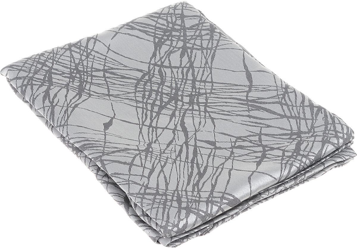 Скатерть Schaefer, квадратная, цвет: серебристый, серый, 150 х 150 см. 07814-41607814-416Квадратная скатерть Schaefer, выполненная из полиэстера с оригинальным рисунком, станет изысканным украшением кухонного стола. За текстилем из полиэстера очень легко ухаживать: он не мнется, не садится и быстро сохнет, легко стирается, более долговечен, чем текстиль из натуральных волокон. Использование такой скатерти сделает застолье торжественным, поднимет настроение гостей и приятно удивит их вашим изысканным вкусом. Также вы можете использовать эту скатерть для повседневной трапезы, превратив каждый прием пищи в волшебный праздник и веселье. Это текстильное изделие станет изысканным украшением вашего дома!