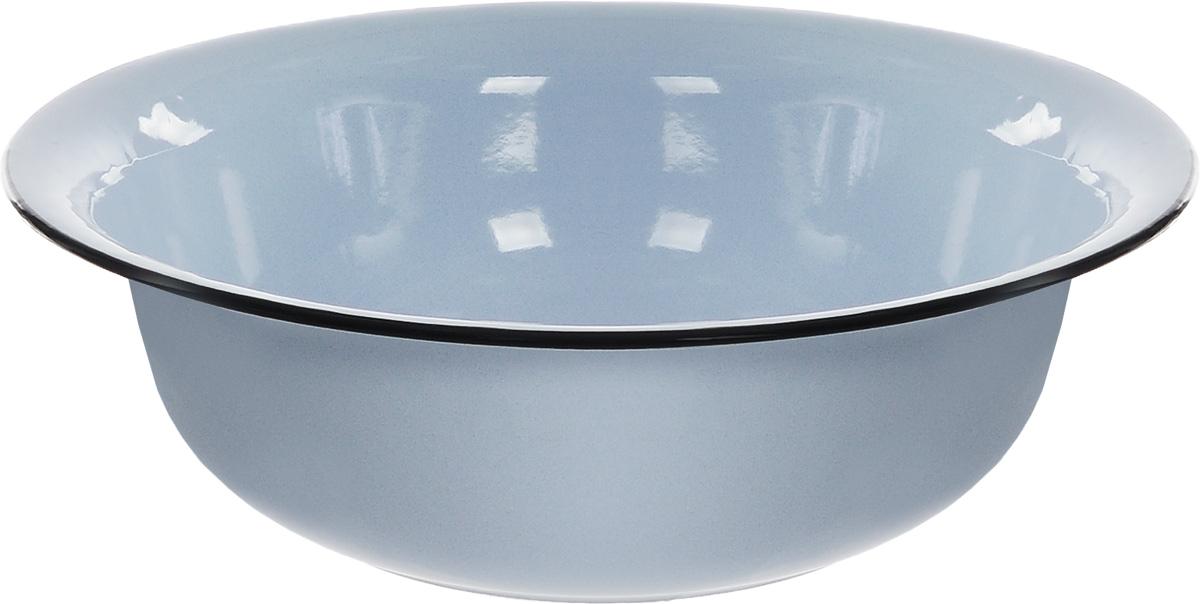 Таз СтальЭмаль, цвет: голубой, черный, 12 л2с30Таз СтальЭмаль изготовлен из высококачественной стали с эмалированным покрытием. Применяется во время стирки или для хранения различных вещей. Диаметр (по верхнему краю): 45 см. Высота стенки: 13 см.