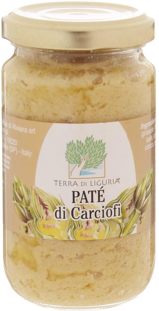 Terra di Liguria паштет из артишоков, 180 гCRCARTDLПаштет из артишоков Terra Di Liguria применяется как самостоятельная закуска с хрустящим итальянским хлебом, а также в составе различных заправок для салатов и паст. Часто применяют в составе кремов для холодных закусок.