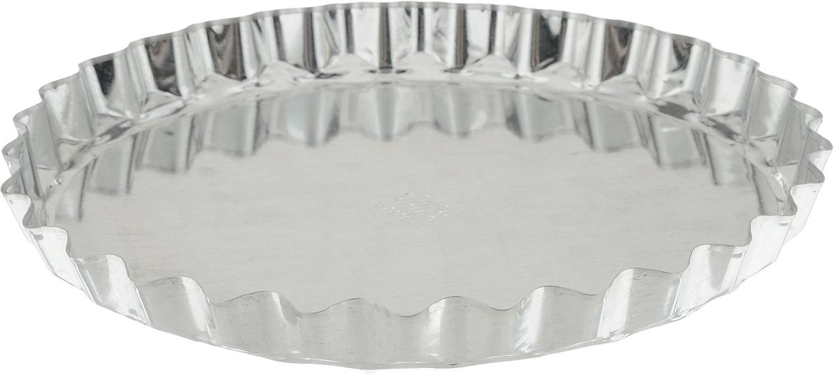 Форма для выпечки пиццы Кварц, диаметр 20 смКФ-16.000Форма для выпечки пиццы Кварц выполнена из белой жести. Изделия из такого материала не ржавеют, отличаются длительным сроком использования и доступной ценой. Стенки изделия рельефные, что придает выпечке аппетитный внешний вид. С формой Кварц вы всегда сможете порадовать своих близких оригинальной выпечкой. Диаметр формы (по верхнему краю): 20 см. Диаметр основания: 18 см. Высота стенки: 2 см.