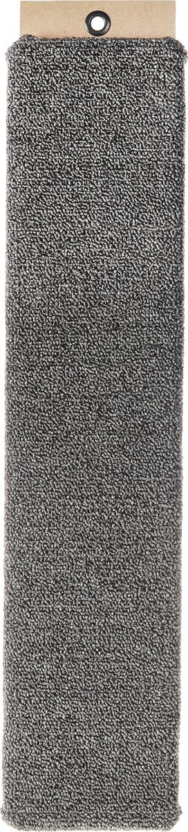 Когтеточка Меридиан, настенная, цвет: серый, 60 х 12,5 х 3 смК013_серыйНастенная когтеточка Меридиан предназначена для стачивания когтей вашей кошки и предотвращения их врастания. Волокна ковролина обеспечивают естественный уход за когтями питомца. Когтеточка позволяет сохранить неповрежденными мебель и другие предметы интерьера. Длина когтеточки: 60 см. Длина рабочей части: 57 см.