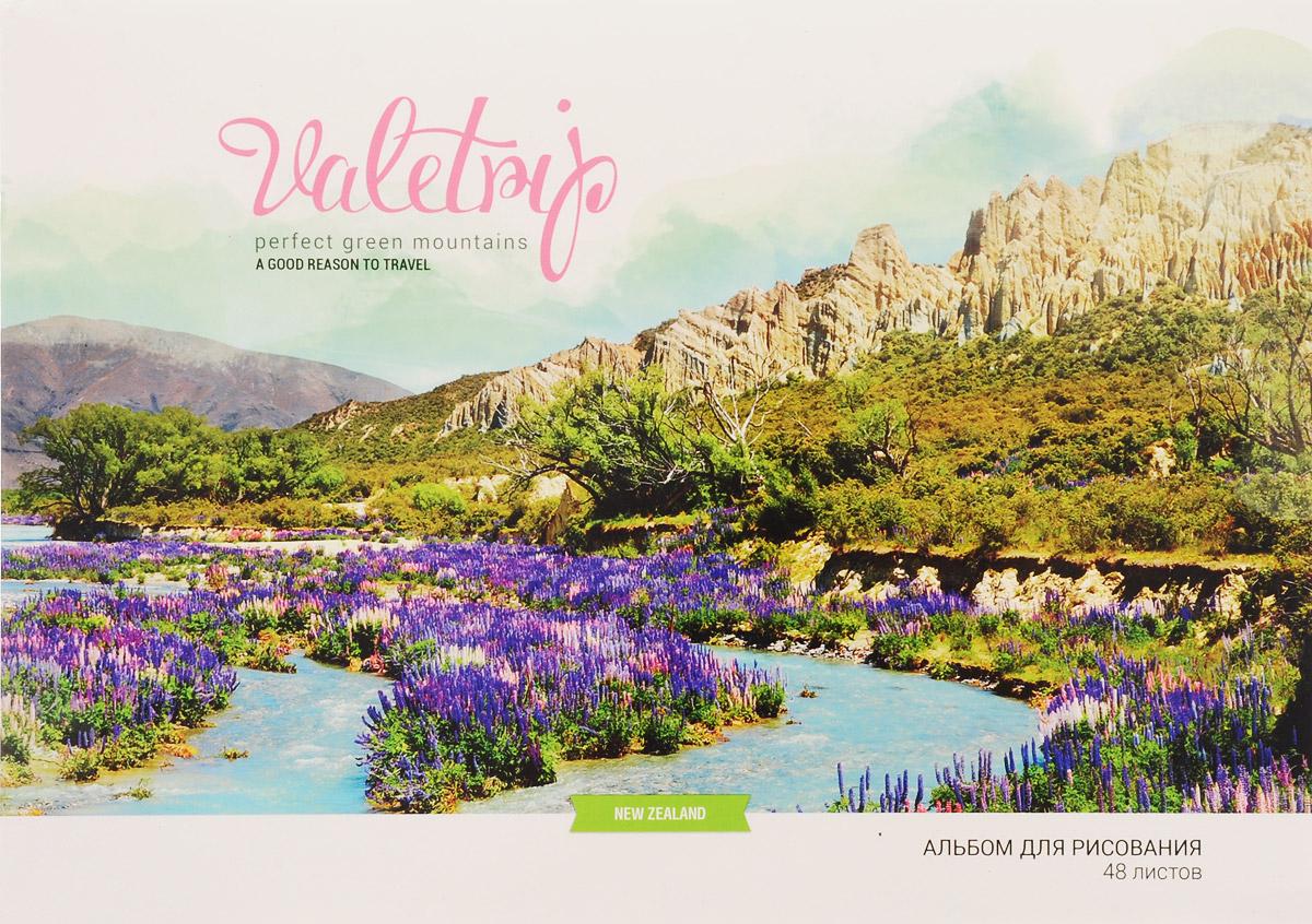 ArtSpace Альбом для рисования Romantic Places Новая Зеландия 48 листовА48клГЛ_9123_Новая ЗеландияАльбом ArtSpace Romantic Places Новая Зеландия подходит для рисования различными типами красок, фломастерами, цветными и черно-графитными карандашами, гелевыми ручками. Он имеет формат А4 и состоит из 48 листов бумаги с типом скрепления - склейка. На обложке, изготовленной из картона, изображена дикая природа в Новой Зеландии. Занимаясь изобразительным творчеством, ребенок тренирует мелкую моторику рук, становится более усидчивым и спокойным.