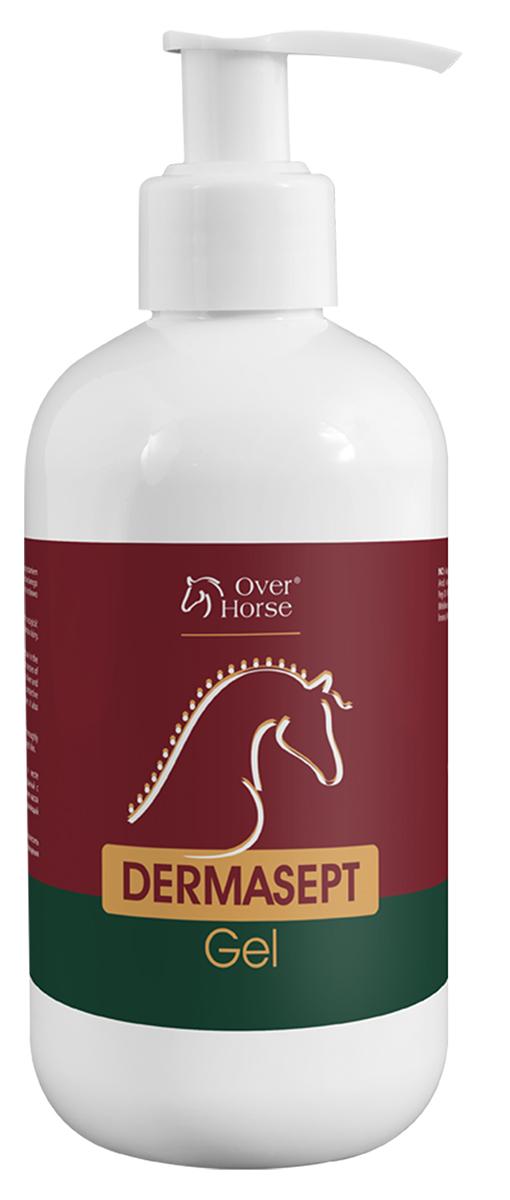 Гель для лошадей Over Horse Dermasept Gel, антибактериальный, противогрибковый, 250 мл5900232783595Инновационный продукт, содержащий эффективный запатентованный комплекс веществ - широкий спектр противомикробной и противогрибковой защиты. Используют при повреждениях кожи и при дерматомикозах. Dermasept Gel активно поддерживает процессы заживления кожи и восстановления роста волос на месте повреждения, способствует образованию естественного барьера, препятствующего проникновению и росту грибов. Быстро проникает в глубокие слои кожи, является безопасным и не вызывает жжения. Препарат наносят на предварительно очищенную, освобожденую от струпьев кожу 2 раза в день курсом 2-3 недели.