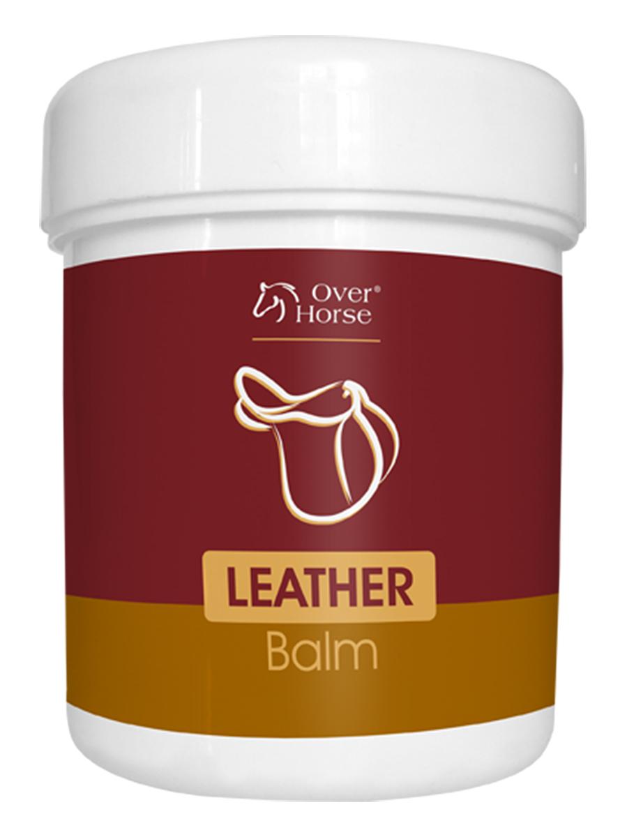 Бальзам Over Horse Leather Balm, для ухода за кожаной амуницией, обувью, 450 мл5900232786374Высококачественный бальзам для ухода за кожаной амуницией, обувью. Питает кожу и придает ей эластичность. Не обесцвечивает кожу. Способ применения: нанести на чистую, сухую кожу, бережно протереть губкой или мягкой тряпкой. После высыхания, отполировать сухой тряпкой.