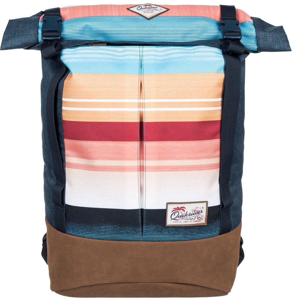 Рюкзак городской Quiksilver New Roll Top, цвет: синий, 26 л. EQYBP03339-MKM3EQYBP03339-MKM3
