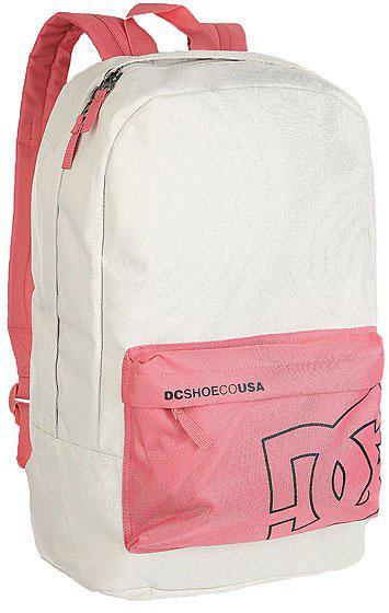 Рюкзак городской женский DC Shoes Shake Up Switch, цвет: розовый, бежевый, 18,5 л. EDYBP03033-MKQ0EDYBP03033-MKQ0