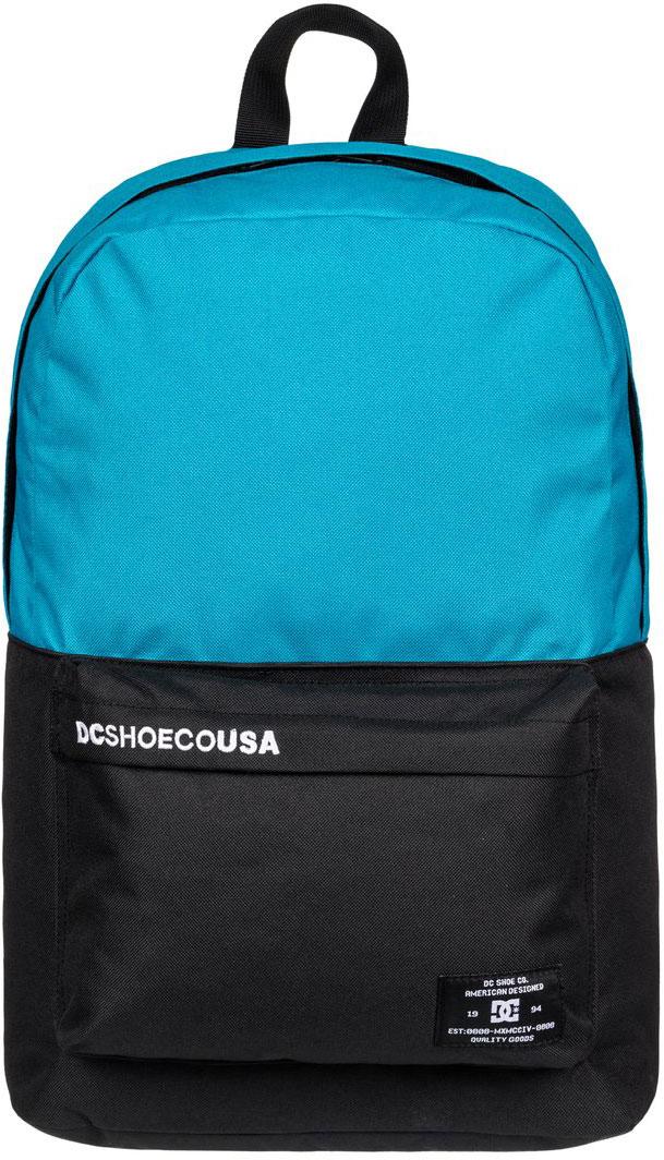Рюкзак городской мужской DC Shoes Bunker CB, цвет: голубой, черный, 18,5 л. EDYBP03092-BLP0EDYBP03092-BLP0
