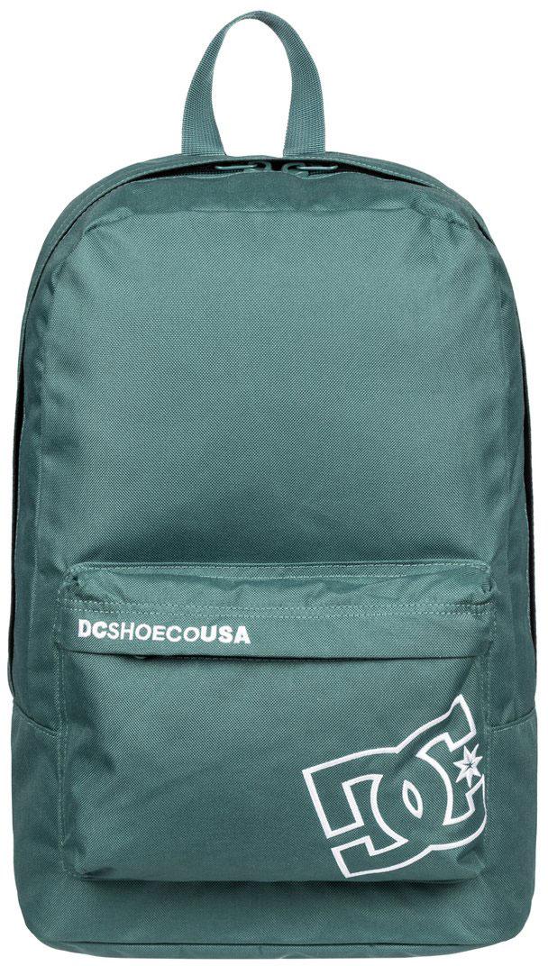 Рюкзак городской мужской DC Shoes Bunker Solid, цвет: зеленый, 18,5 л. EDYBP03094-BPF0EDYBP03094-BPF0