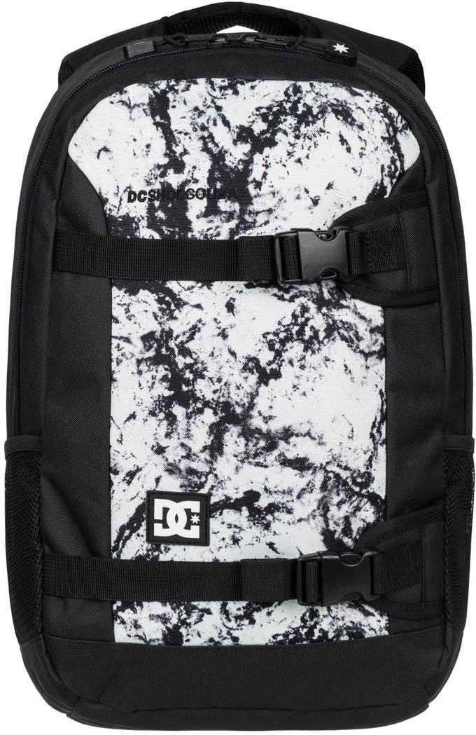 Рюкзак городской мужской DC Shoes Grind II, цвет: белый, черный, 25 л. EDYBP03083-WCQ1EDYBP03083-WCQ1