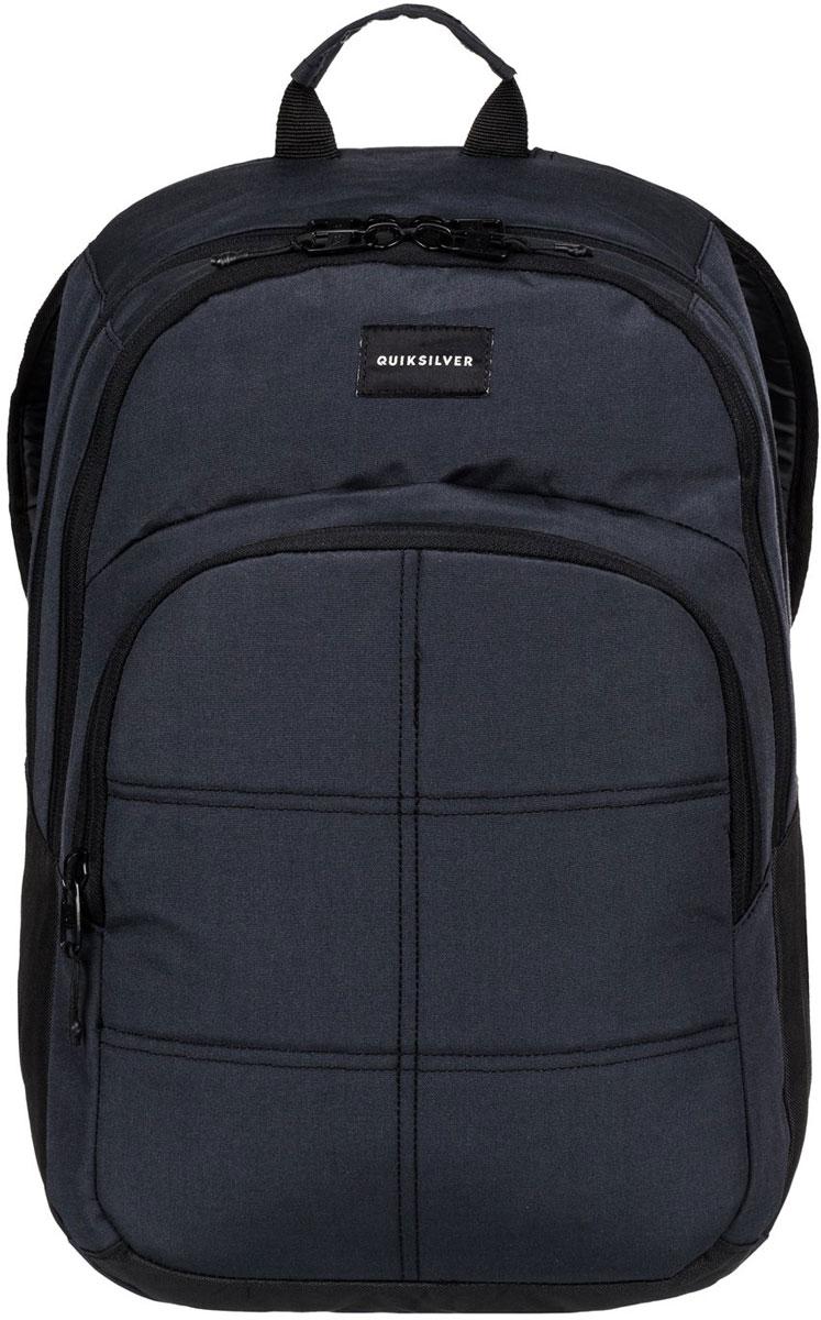 Рюкзак городской мужской Quiksilver Burst, цвет: черный, 20 л. EQYBP03302-KVJWEQYBP03302-KVJW